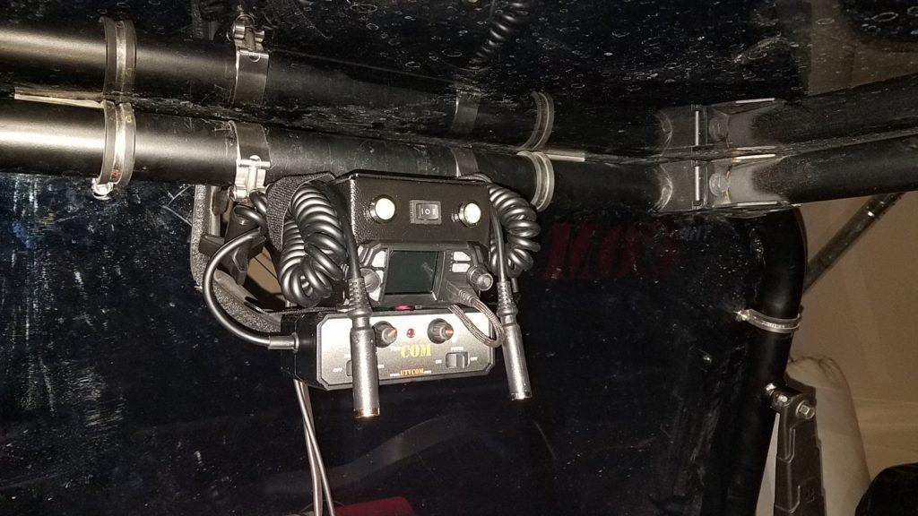2 way Radio interior
