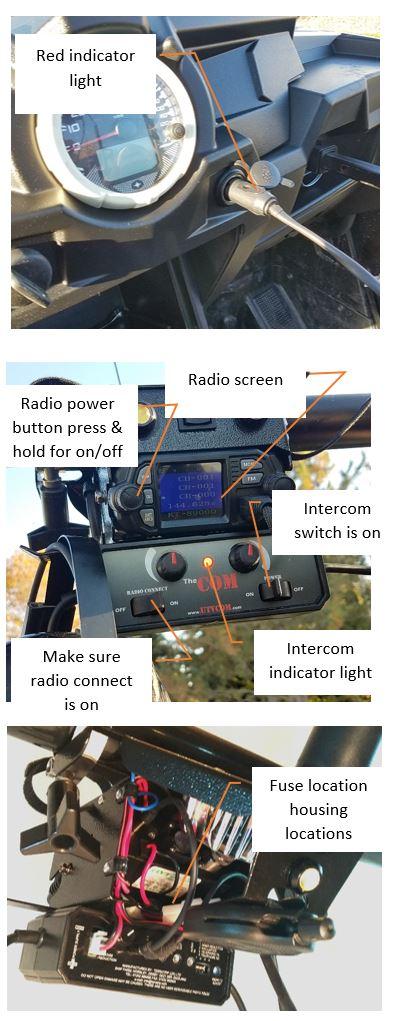 The COM power cord