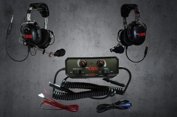Aviator headset UTV intercom