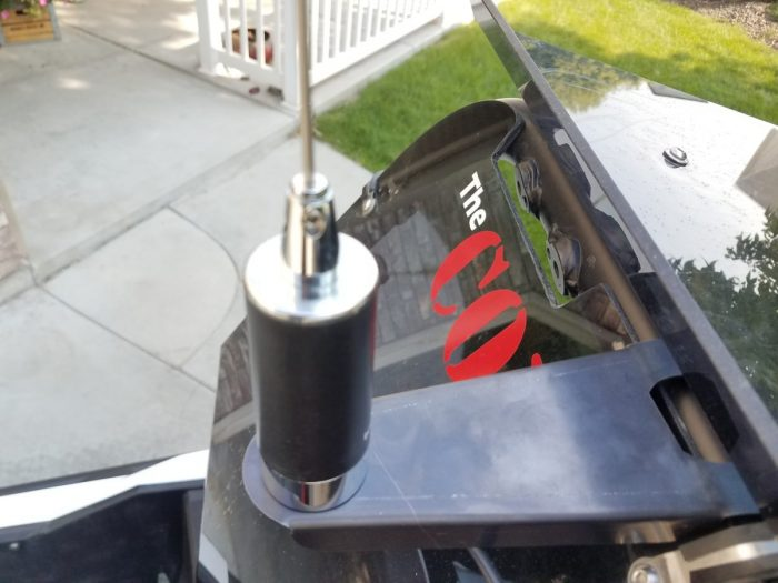 The COM Antenna mount