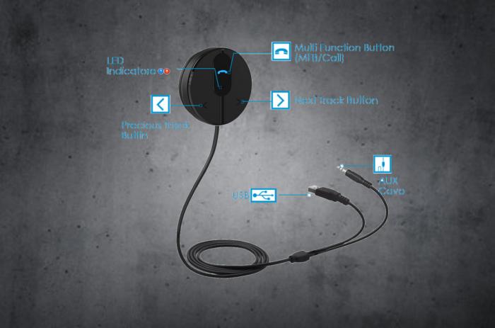 TheCOM Bluetooth intercom