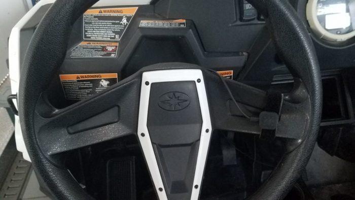 TheCOM steering wheel PTT