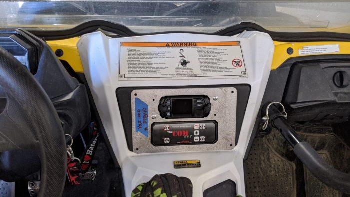 Communication kit for Yamaha UTVCOM