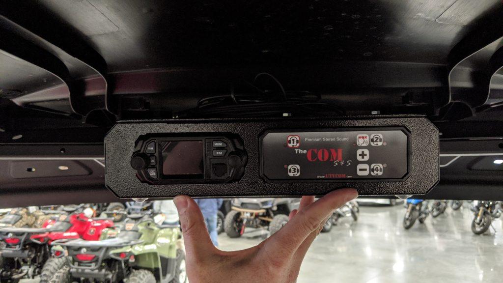 roof mount intercom radio