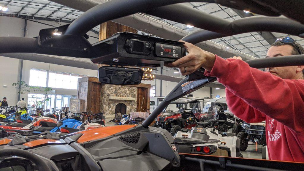 roof mount intercom COM intercom walkie talkie