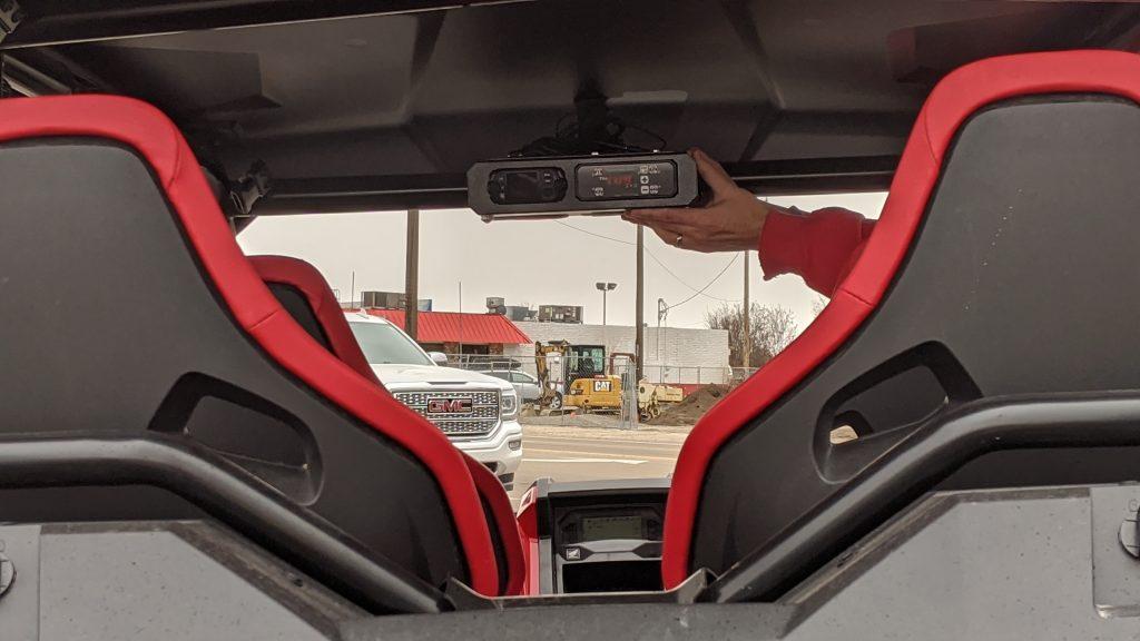 Honda talon sxs with intercom radio