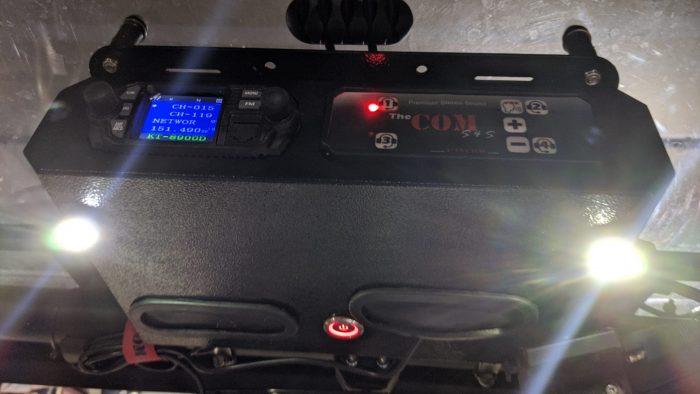 PCI intercom radio with lights sxs