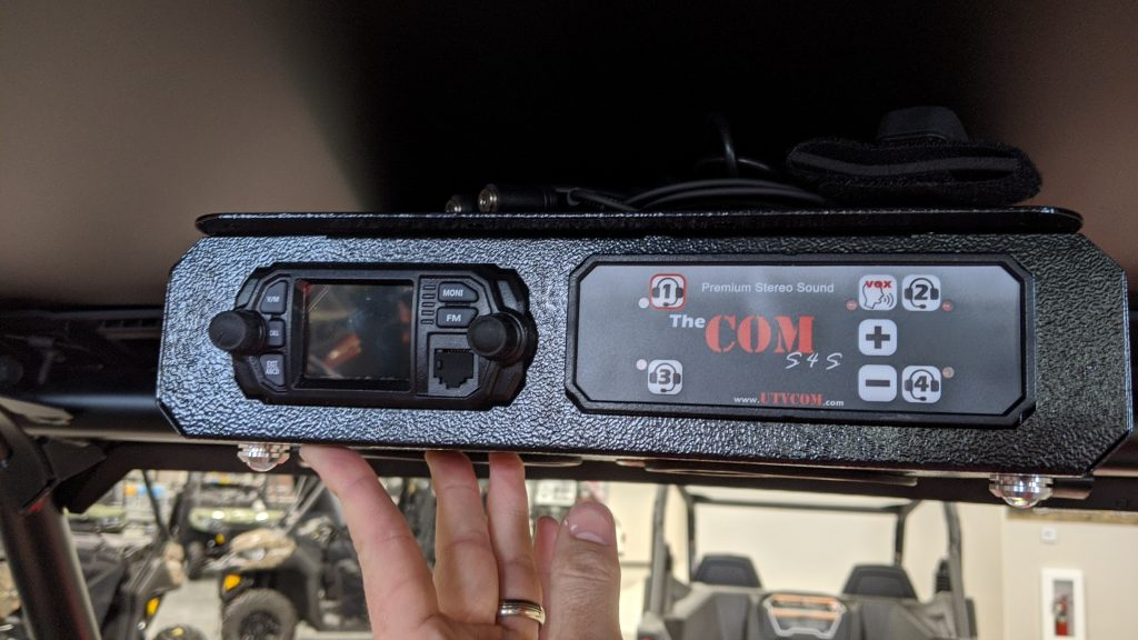 XP COM intercom radio stereo