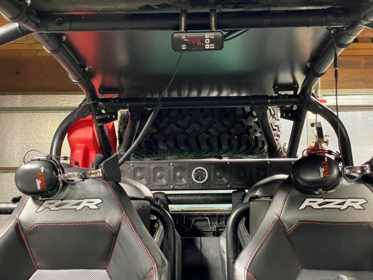 cushion clamp # 1 stereo intercom radio rugged waterproof