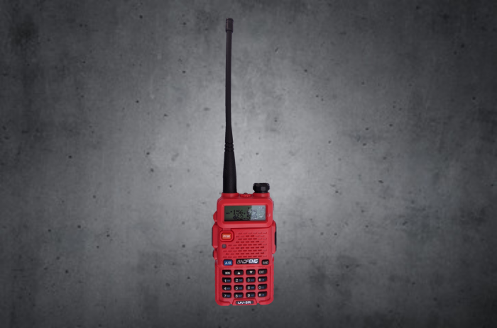 Boafeng UV-5R rugged radio RH5R 2-way motorcycle UHF VHF