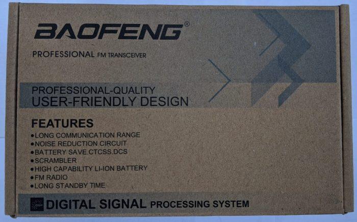 UV-5R BTECH BaoFRH-5R BF-F8HP UV-82HP SMA female connections RH5R rugged radio