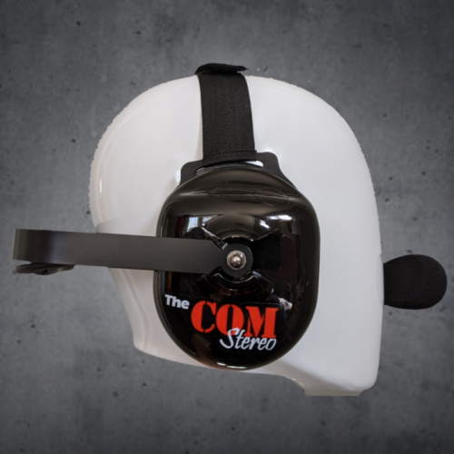 TheCOM Stereo headset Behind the head