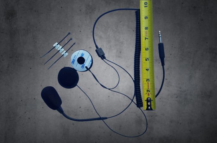 mono headset cord by TheCOM for atv and utv