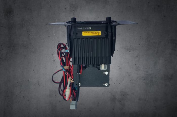 Stereo intercom and radio kit for UTV rugged radio PCI