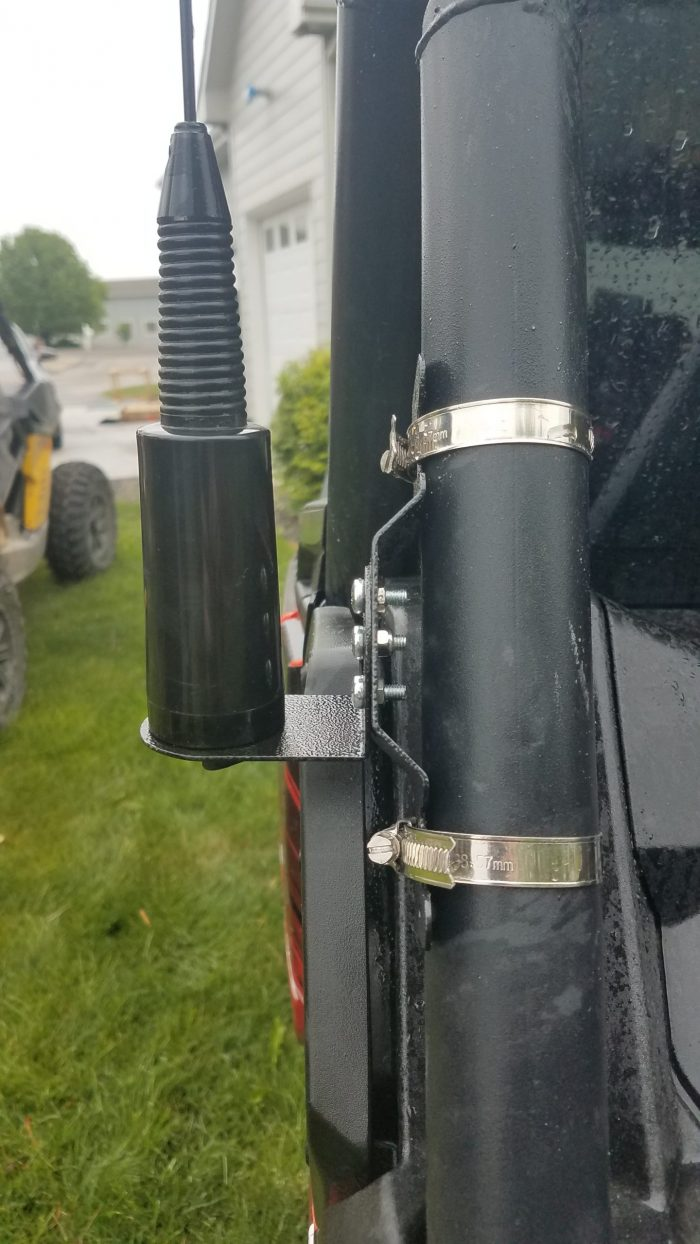 side view NMO swivel universal mount