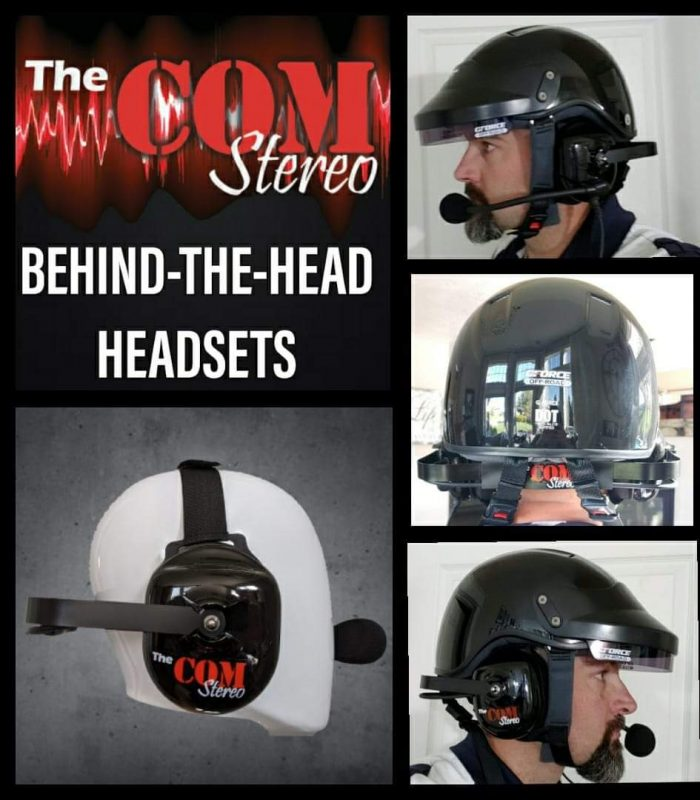 Stereo behind the head headset