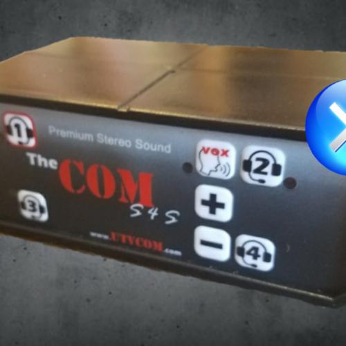 #1 Bluetooth intercom UTV