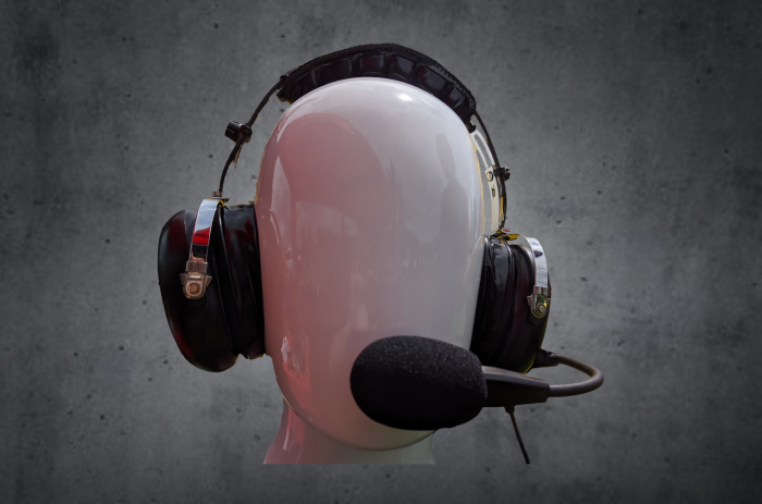 The COM radio headset for UTV ATV riding