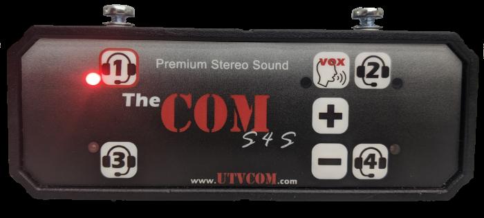 Stereo 4 seat intercom radio kit by utvcom the COM