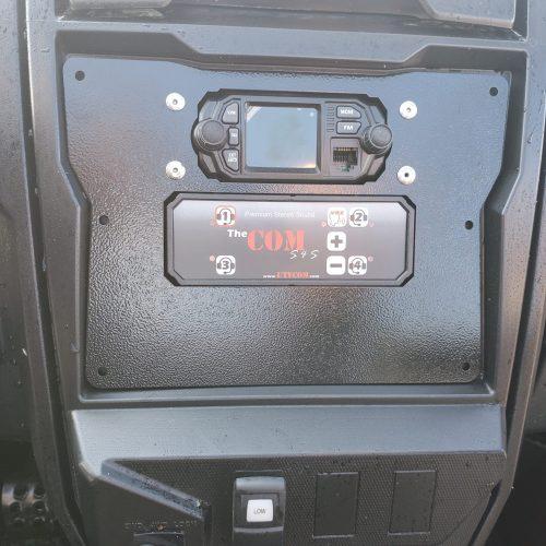 Stereo intercom for Kawasaki Teryx KRX 1000