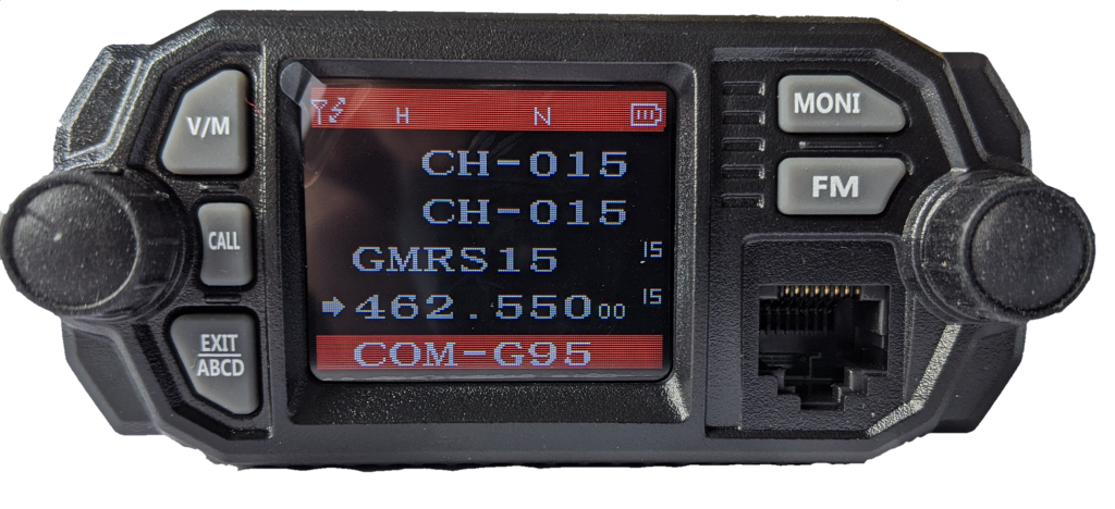 GMRS certified UHF VHF rugged COM Radio