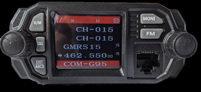 GMRS certified UHF VHF rugged COM Radio