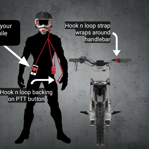 Rugged moto kit single rider