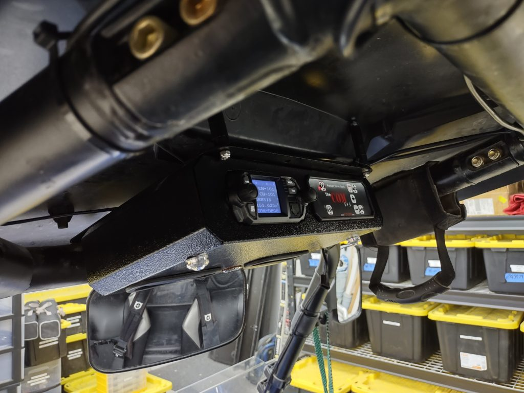 Stereo intercom and 2-way Radio